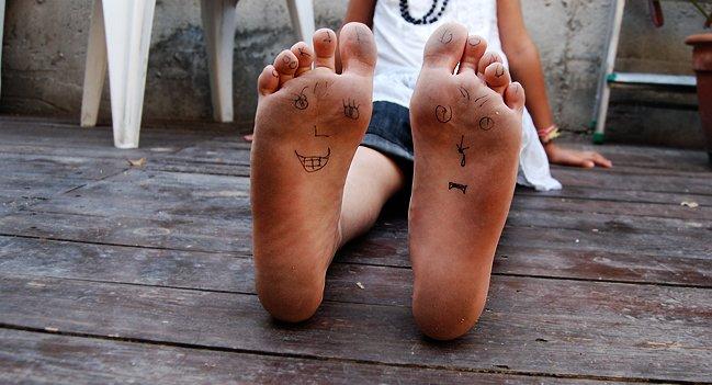 Lindos dedos adolescentes